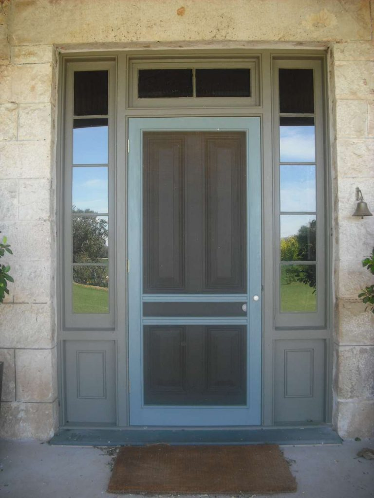 Bespoke Entry Door with Side lites and Transom Lite