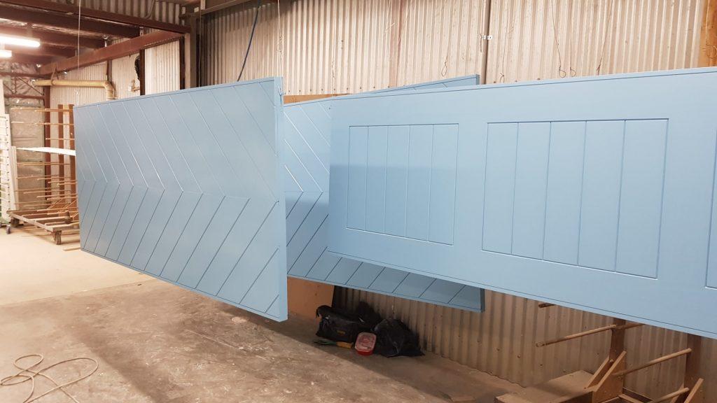 Bespoke Timber Doors in Drying Room